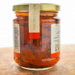 Dried cigliegino tomatoes  in olive oil