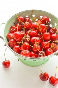 Cherries with aceto balsamico